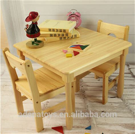 square table 2chairs writing table montessori