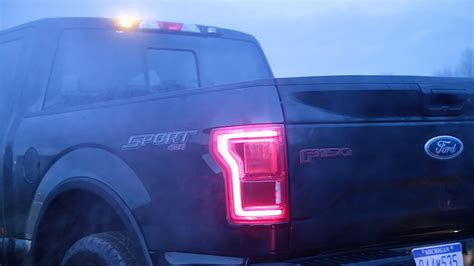 led lights for ford f150 2016 f 150 available with factory installed led strobe