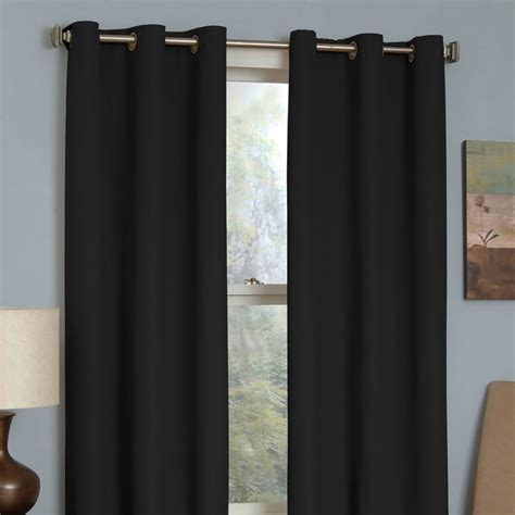 eclipse microfiber thermaback blackout curtain 17 best ideas about window panels on pinterest small