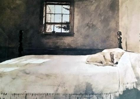 master bedroom by andrew wyeth cranberries and sea running suite of 2 lithographs hs by