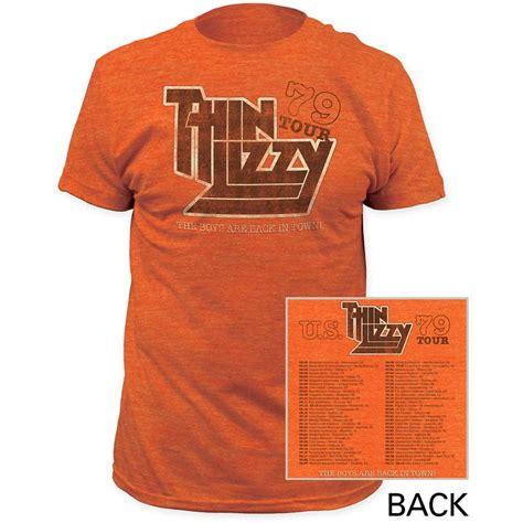 thin lizzy t shirt thin lizzy 79 tour t shirt