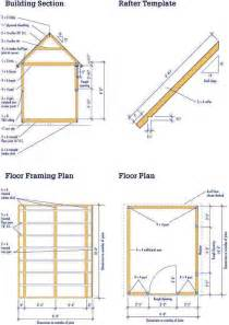 shed floor plan gable shed blueprints 8 215 10 plans for a diy garden shed
