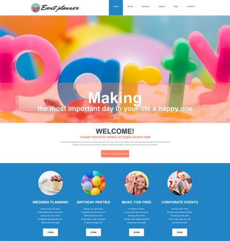 free birthday website templates 21 event themes templates free premium templates