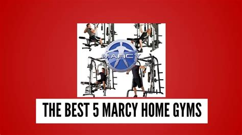 the best 5 marcy home gyms that are worth to buy
