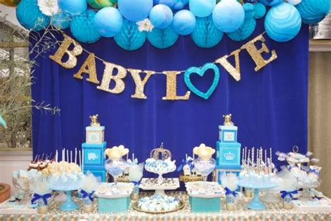 Decorating A Baby Shower Table by 31 Baby Shower Dessert Table D 233 Cor Ideas Digsdigs