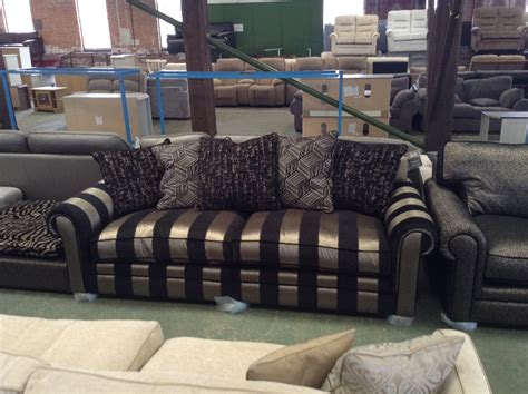 striped two seater sofa black and gold striped split 3 seater sofa black and gold