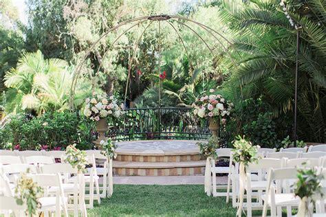 Secret Garden Los Angeles Wedding Flower Garden Los Angeles