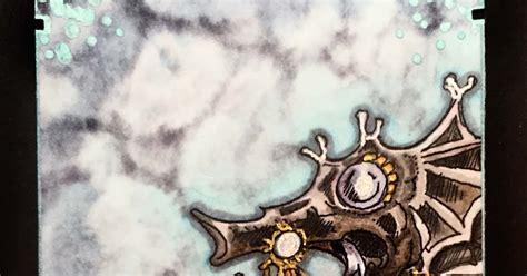 seahorse rubber st leigh s b designs steunk seahorse atc rick st dennis