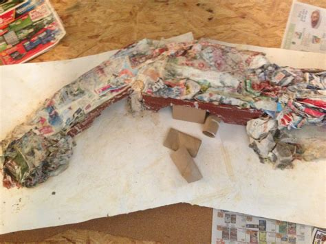 How To Make Paper Mache Mountains For - 2013 page 2 easy toys