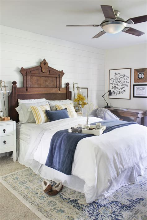 Decorating With Persian Rugs Fall Master Bedroom Tour A New Rug Shades Of Blue