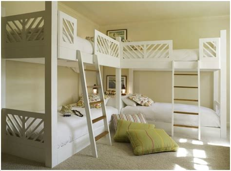 10 Wonderful L Shaped Bunk Bed Designs L Shaped Bunk Beds For
