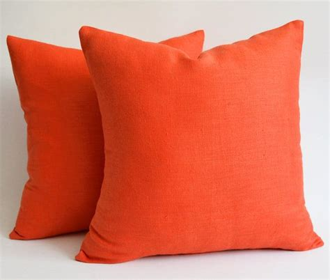 orange sofa pillows orange pillows for sofa top decorative pillows with