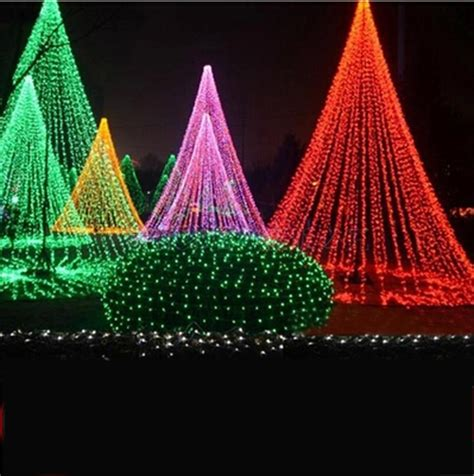 how to string lights on outdoor tree led lights string lights tree lights