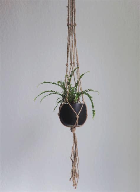 Flower Hangers - diy macrame plant hanger