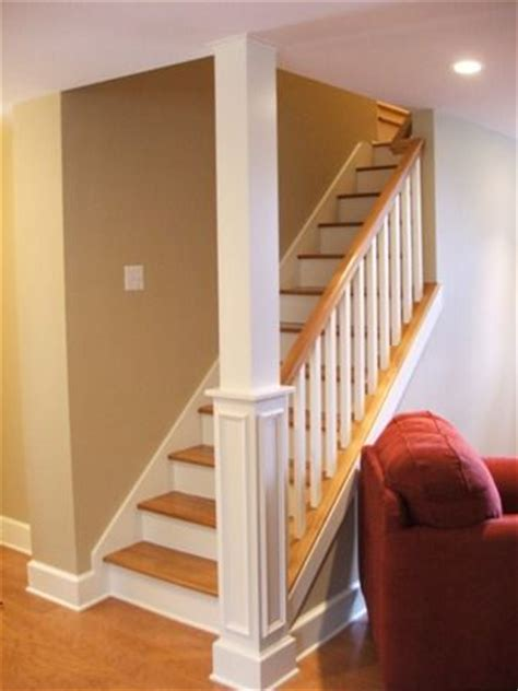 open staircase to basement basement stair idea for the home cases
