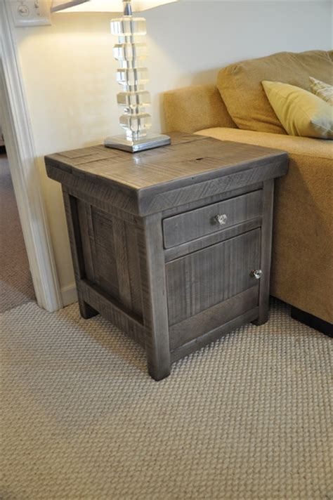 rustic grey end tables rustic end tables rustic slate gray