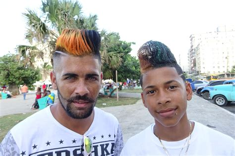 cuban hairstyles cuban haircuts outlandish hairstyles become top trend