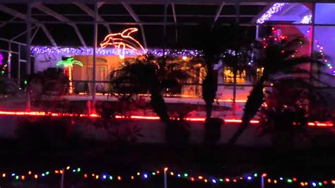 christmas light display with 700 000 lights lasers and