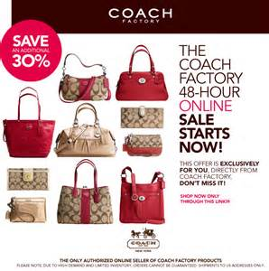 Coach Sle Sale by Coach Usa Factory Outlet Sale 30 2 Days Only