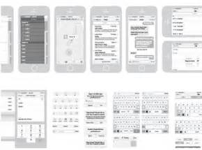 iphone wireframe template illustrator not 30 free wireframe style uis mockups and