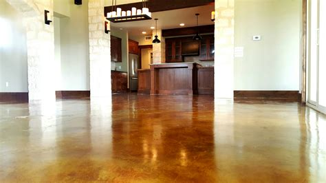 concrete flooring staining pros cons homeadvisor