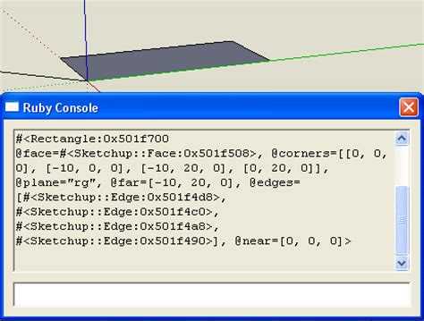 tutorial ruby sketchup 11 edges to rubies the complete sketchup tutorial