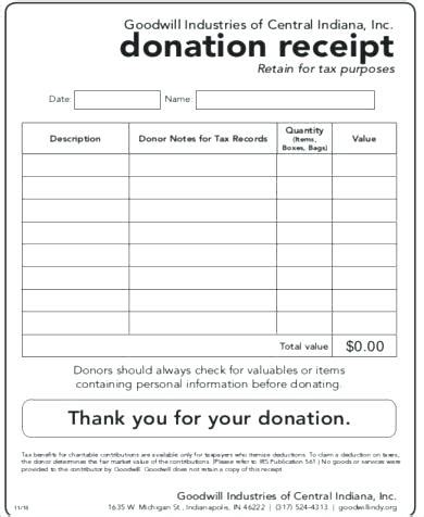Equipment Donation Receipt Letter Template by Charity Receipt Template Equipment Donation Receipt Form