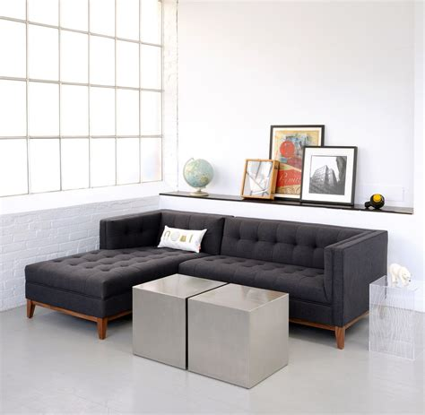 apartment size leather sofa sectional hereo sofa