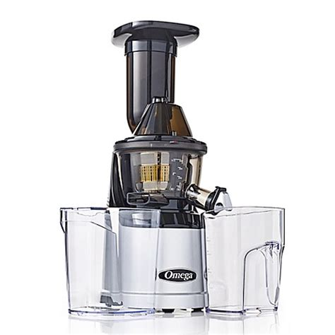 Juicer Bed Bath And Beyond by Omega 174 Megamouth Low Speed Juicer In Silver Bed Bath