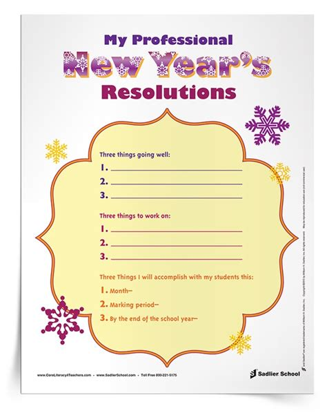 new years resolution worksheet my new year s resolution worksheet for educators