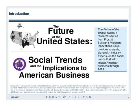 american society trends the future of the us social trends through 2025 and the