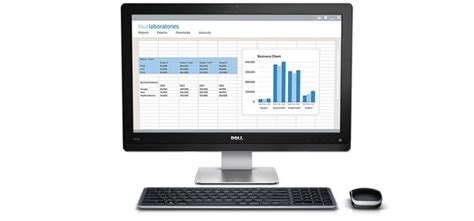 Minimal Work Desk Dell 5000 Series All In One Thin Client