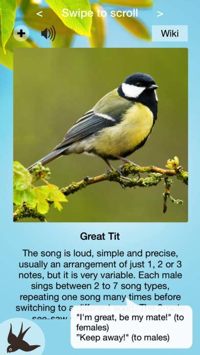 chirp bird songs calls of britain and europe app