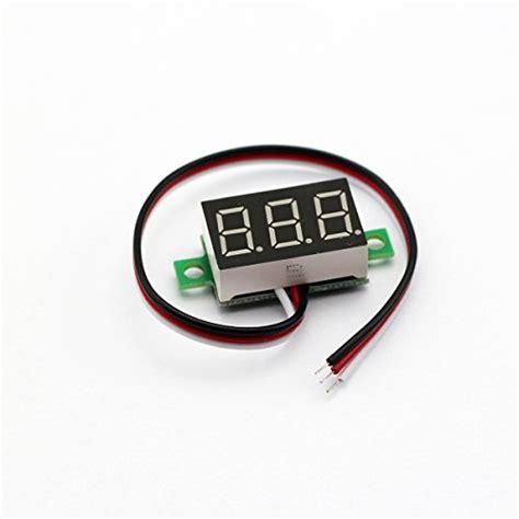 036 Digital Voltmeter 3 Wire 0 40vdc Hijau bayite 3 wire 0 36 quot dc 0 30v digital voltmeter tester import it all