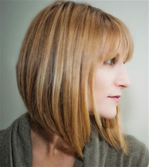 short back long frontvwith bangs long bob hairstyles 2014 under blunt cut hair bob