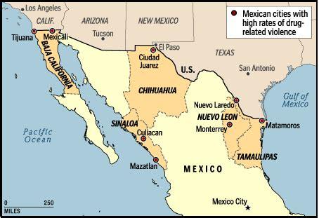 mapa de cd juarez chihuahua cd juarez map
