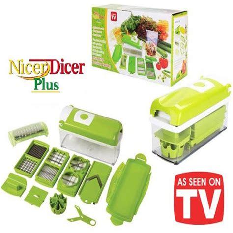 Nicer Dicer Fusion Genius As Seen On Tv Twist Chopper Knife Buah Sayur buy nicer dicer plus pack of 2 in pakistan nicer