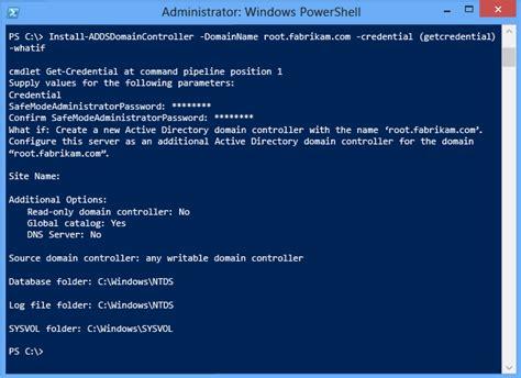 install  replica windows server  domain controller