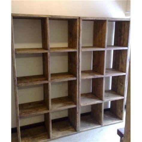 16 Cube Shelf by Cube Shelf Units X 16