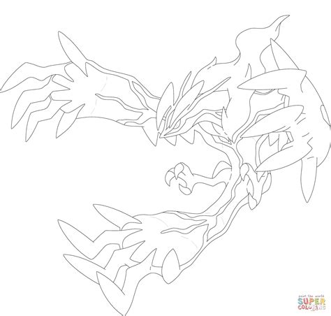 free coloring pages of yveltal yveltal coloring page free printable coloring pages