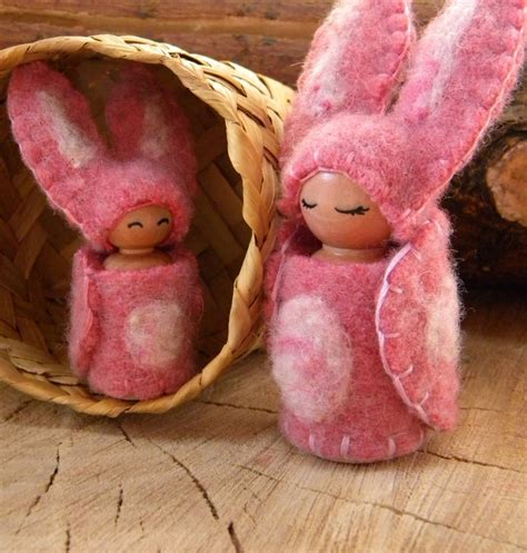 Bunny Gnome Pink 151 best images about felt child dolls on more best flower fairies waldorf crafts