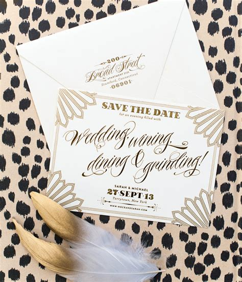 Hip Wedding Invitation Wording by Hip Hop Regency Wedding Invitations
