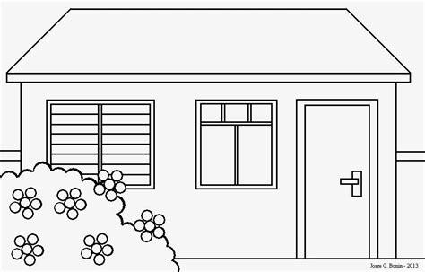 desenhar casas arte no paint desenho para colorir casa