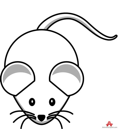 Mouse Clipart by Mouse Clipart Outline Pencil And In Color Mouse Clipart