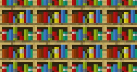 minecraft bookshelves large fabric by elsielevelsup on
