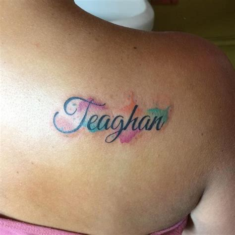 watercolor tattoo names 100 memorable name ideas designs top of 2019