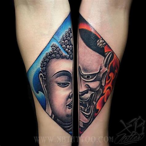 duality tattoo designs 131 buddha designs that simply get it right