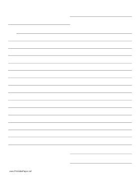 friendly letter writing paper friendly letter template paper 2nd look