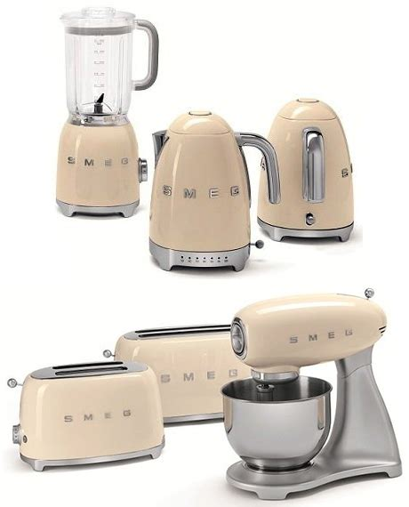 retro small kitchen appliances smeg back to the 50 s retro collection of small appliances