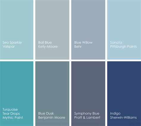 shades of blue paint design with lavish color at a glance decor bl0g